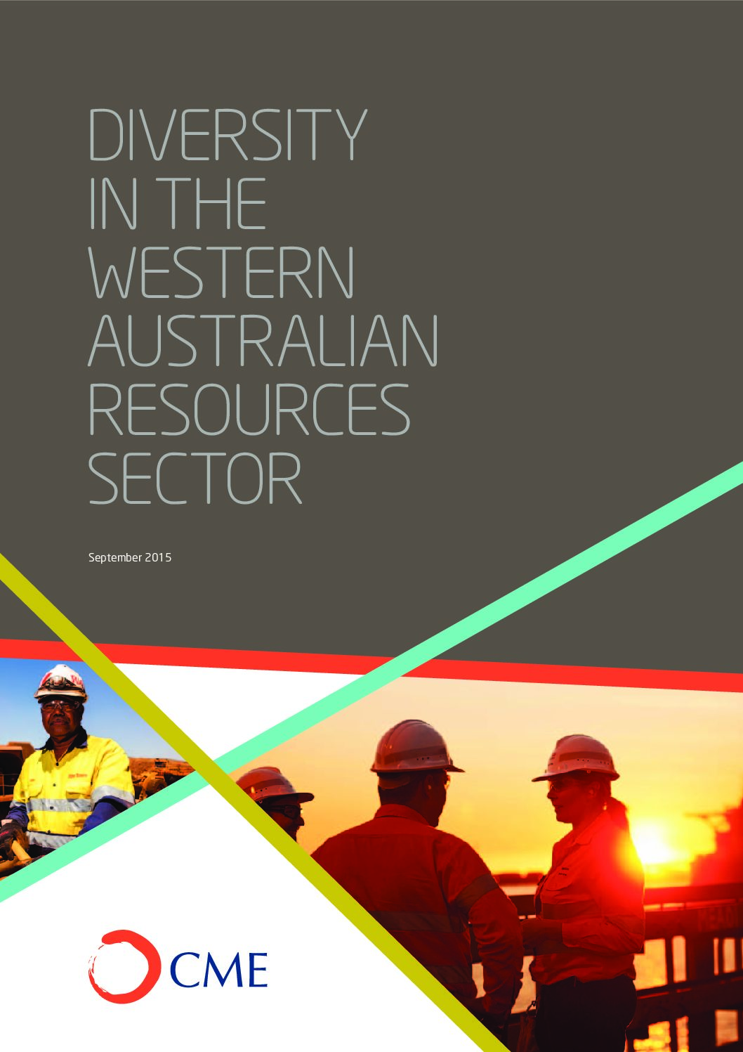 Diversity in the Western Australian Resources Sector Survey Report 2015