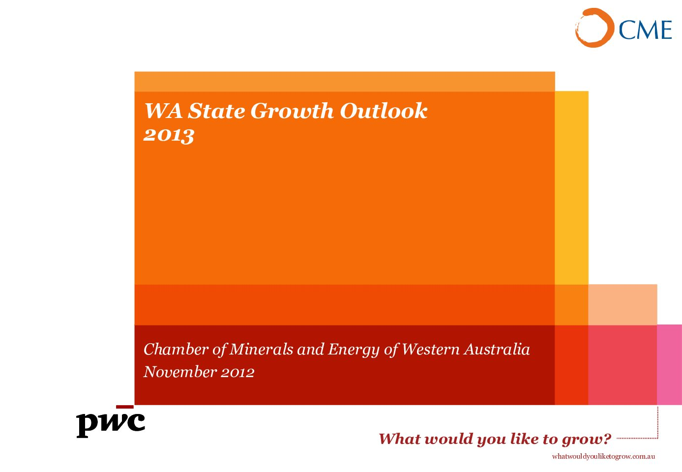 2013 State Growth Outlook