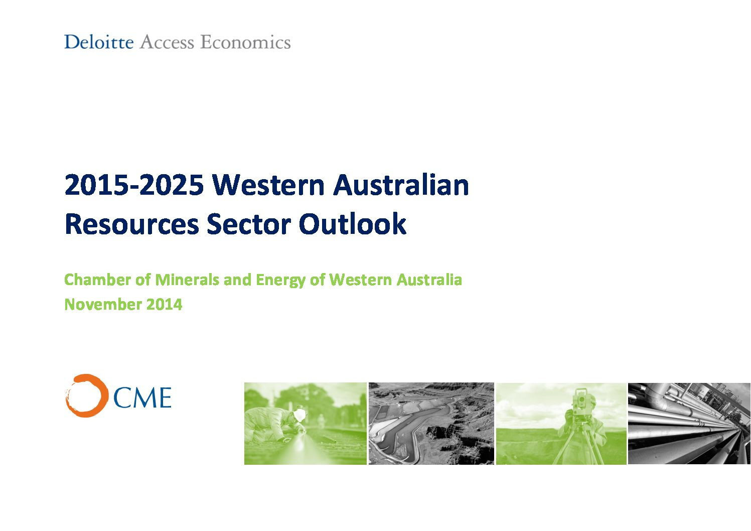 2015-2025 Western Australia Resources Sector Outlook