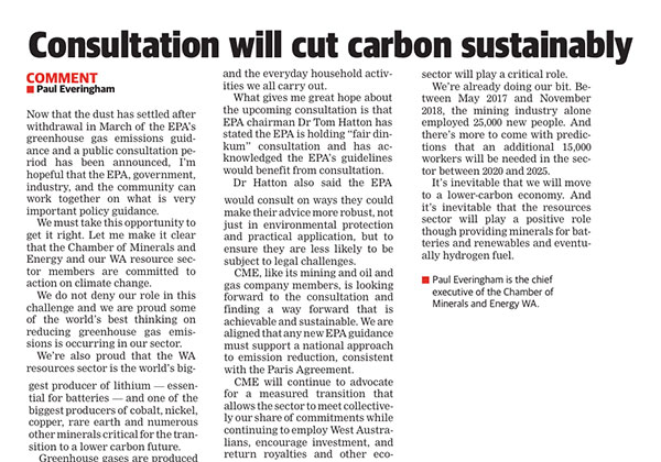 Carbon consultation - Kal Miner