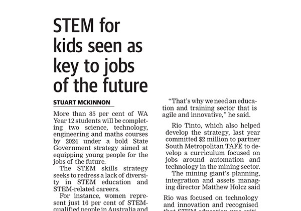 STEM for the future - West Australian