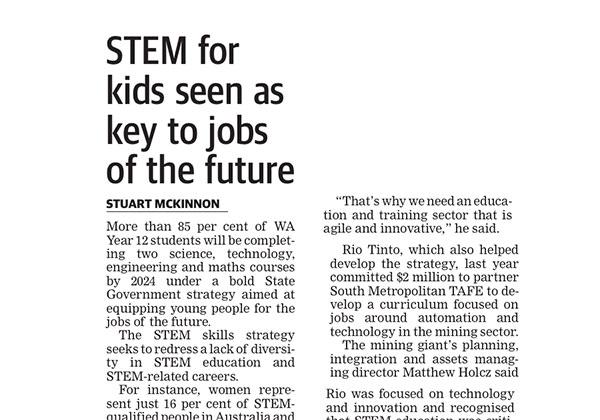 STEM for the future - West Australian