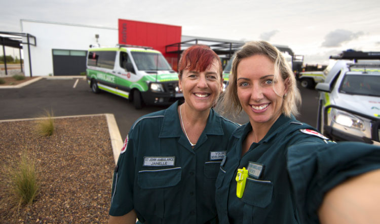 BHP gives St John Ambulance a much needed boost