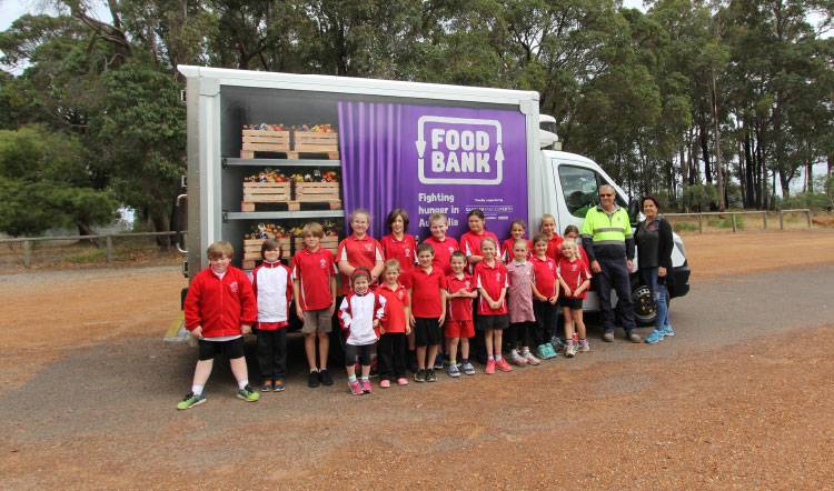 Talison Lithium wheels in help for Foodbank WA