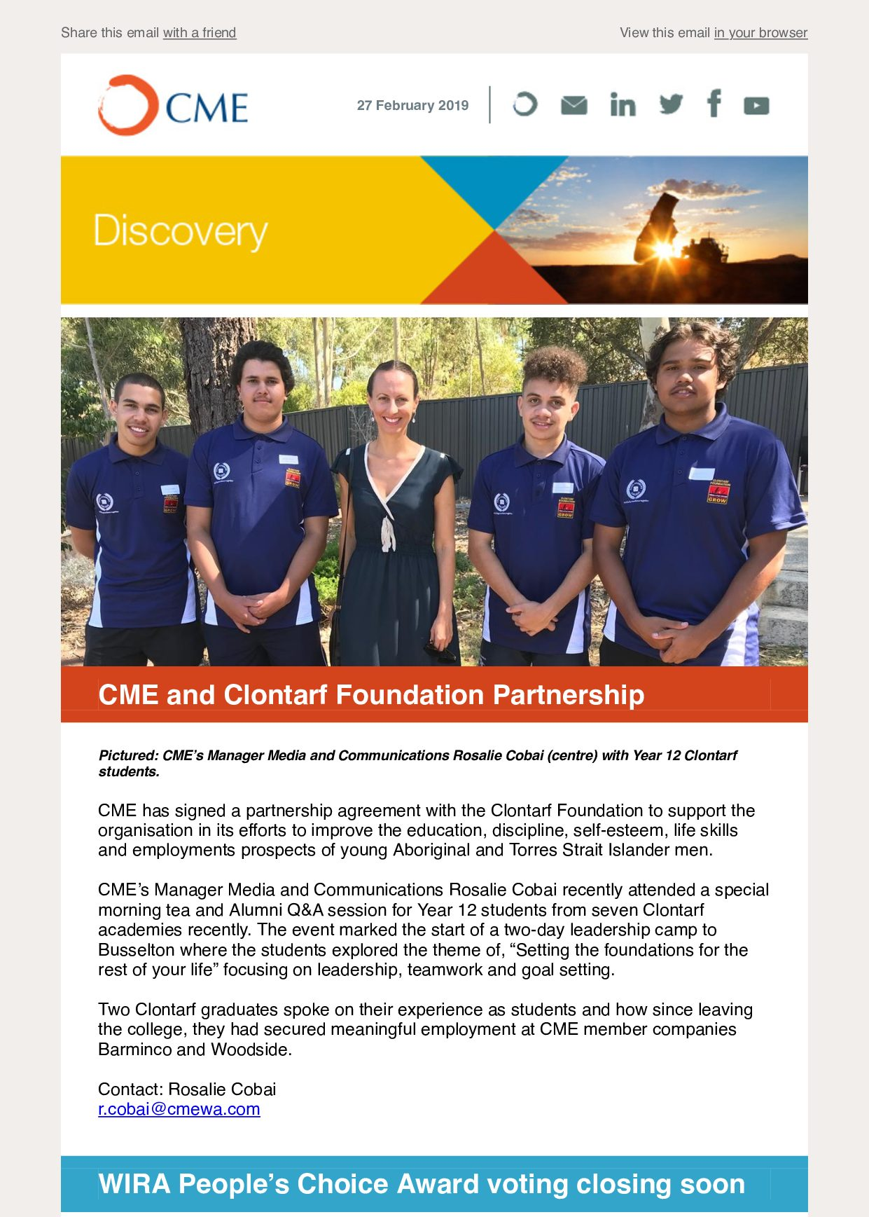 CME Discovery Feb 2019