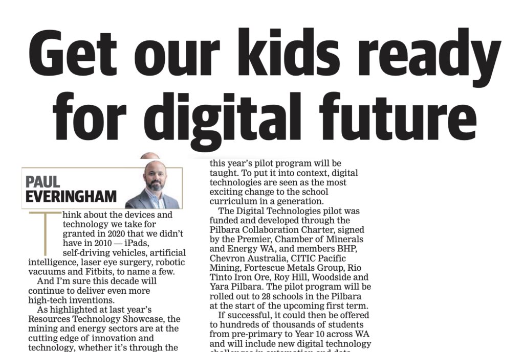 The importance of getting kids ready for a digital future