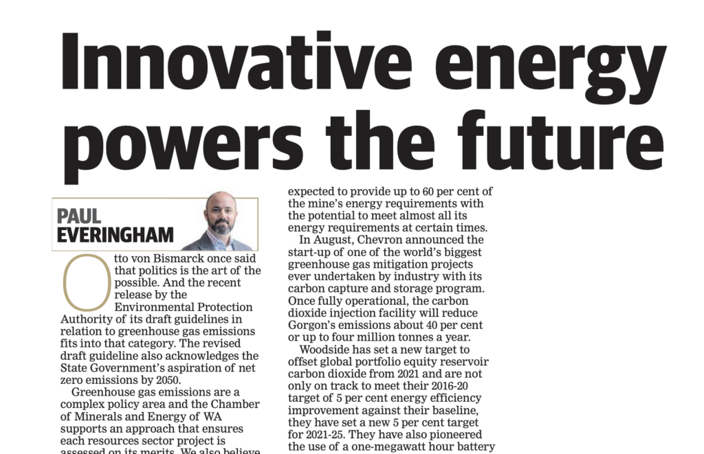 Innovative energy powers the future