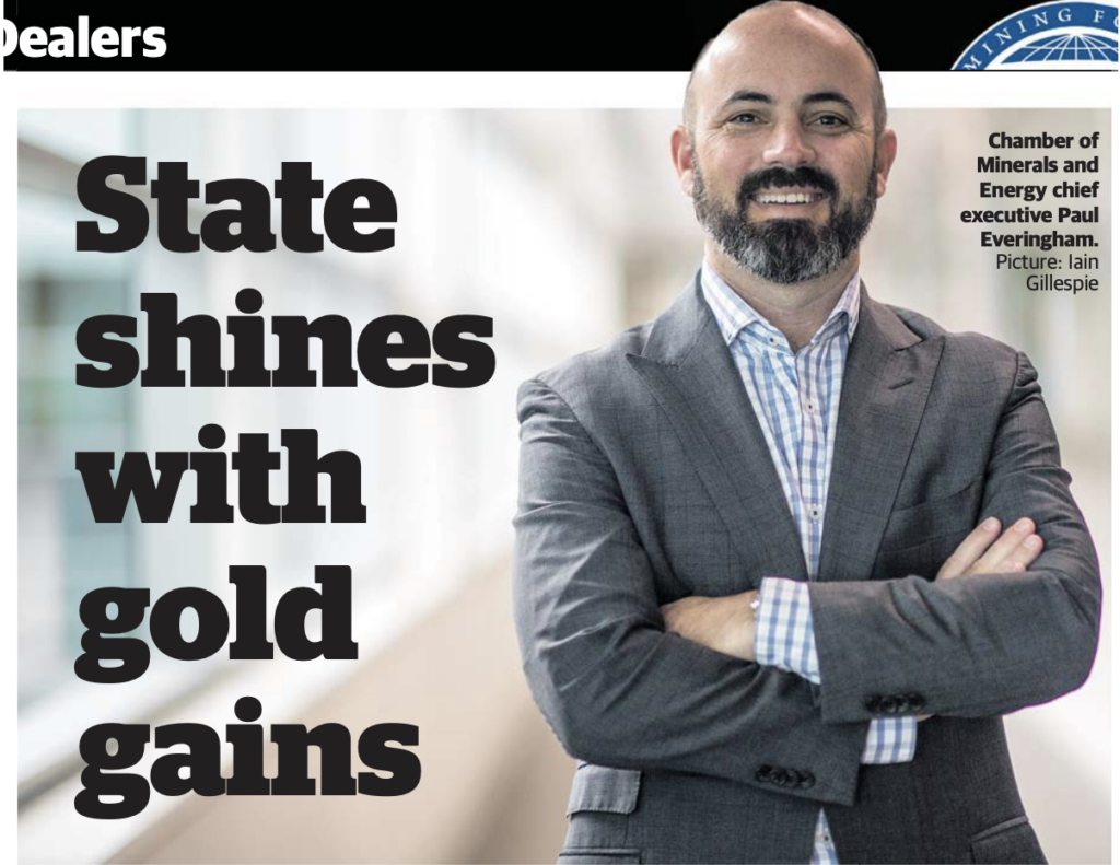 State shines with gold gains