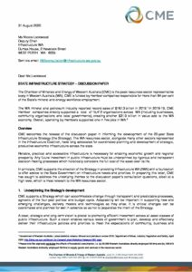 Infrastructure WA Discussion Paper submission